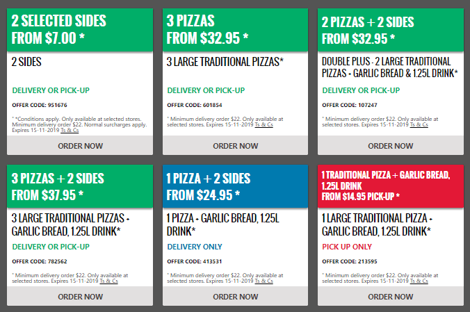 Domino's Coupons