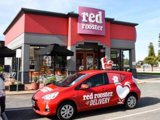 Red Rooster Delivery