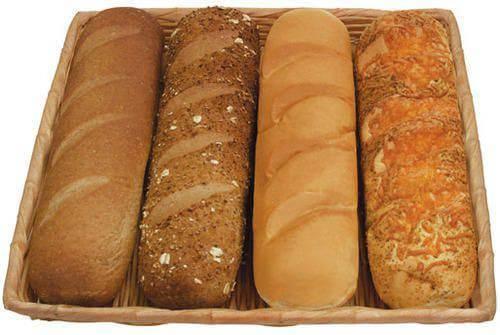 Subway Bread Menu