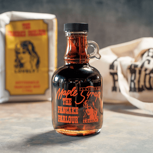Maple-flavoured syrup