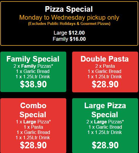Pacino's Pizza & Pasta Restaurant Coupons