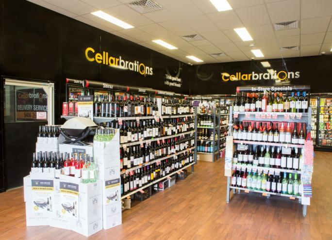cellarbrations wine shop delivery Australia