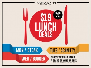 $19 Lunch Deals