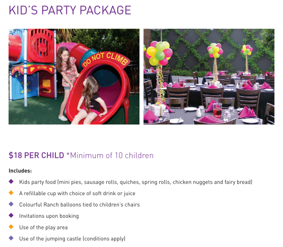 Kids Party New Package